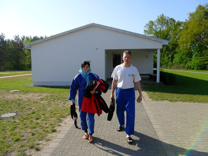 Trainingswochenende in Lindow/Mark im Mai