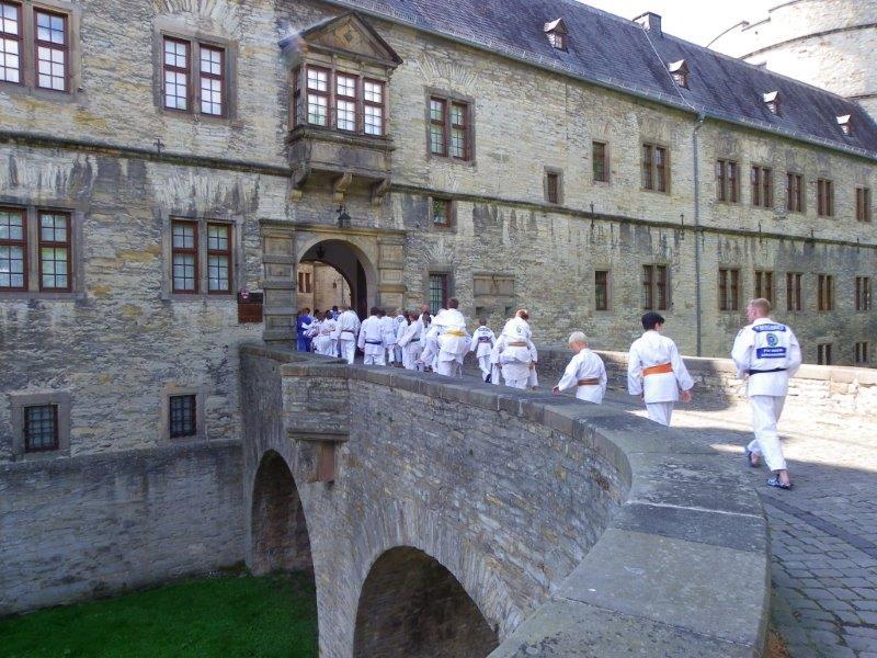 Judofreizeit auf der Wewelsburg