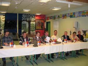 Präsidium zur Mitgliederversammlung 2004