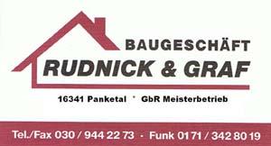 Baugeschäft Rudnick und Graf GbR