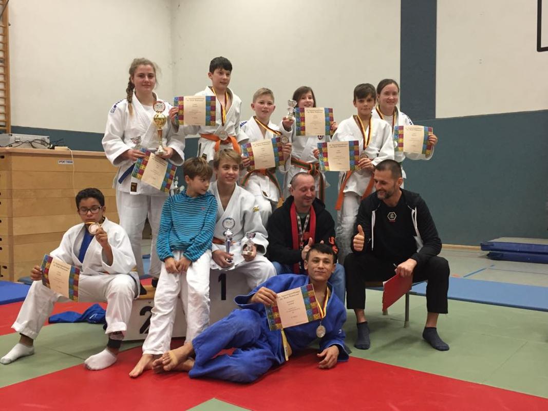 Erfolgreiche Judoka des JSV Bernau