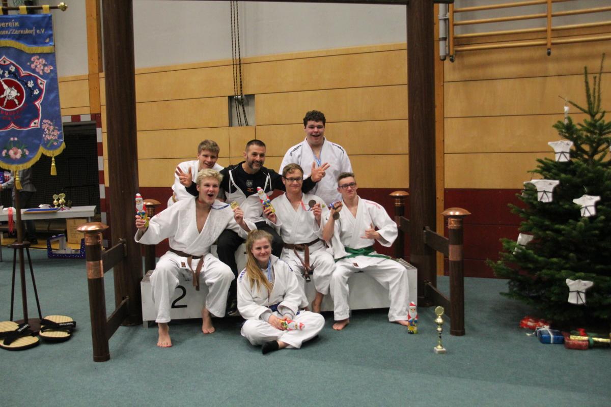 Bernauer Judokas beim 25. Kreispokal in Königswusterhausen