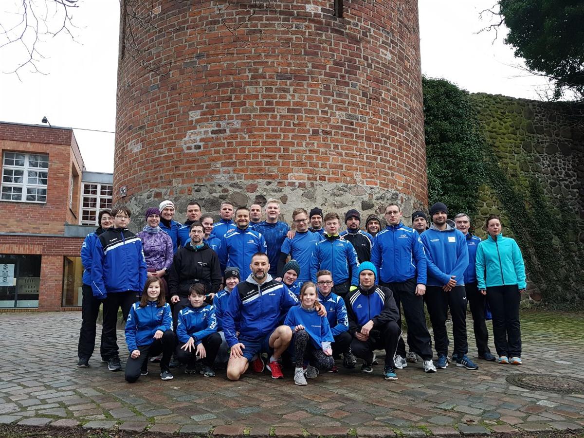 Teilnehmer des JSV Bernau beim Silvesterlauf 2017