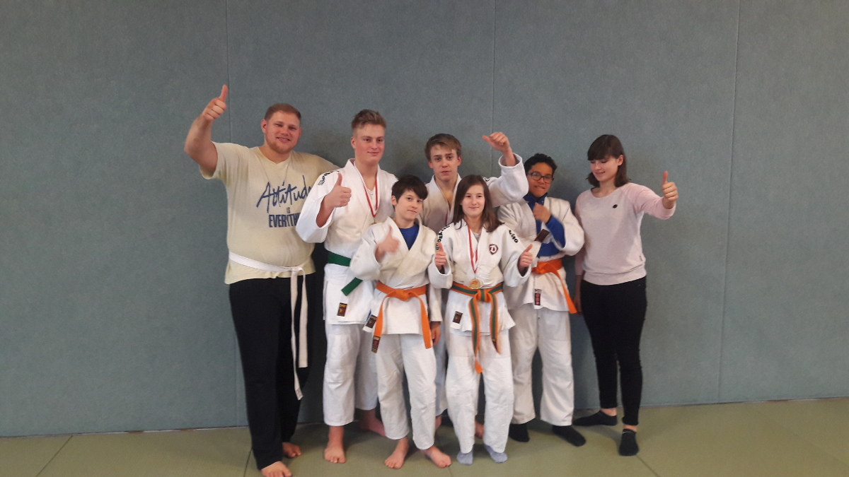 Die erfolgreichen Kämpfer der U15